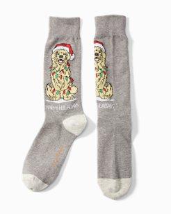 Happy Howlidays Socks