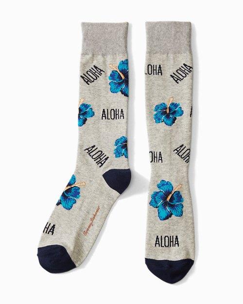 Had Me At Aloha Socks