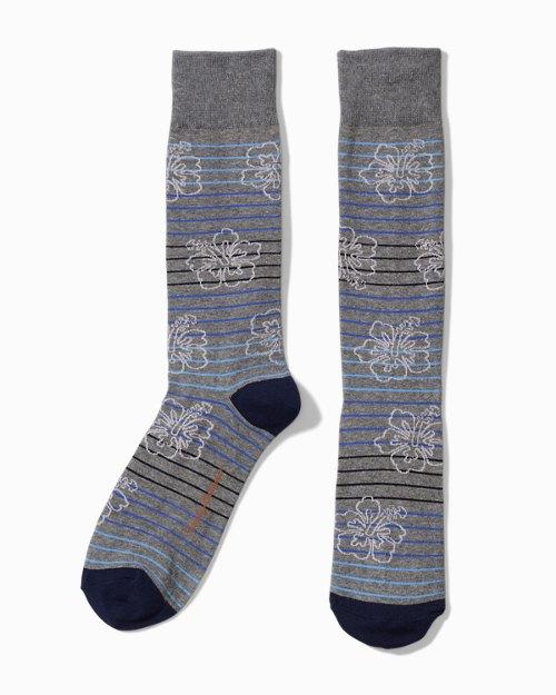 Hibiscus Shades Socks