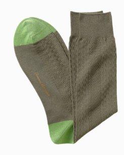 Basketweave Socks