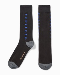 Palm Clocking Socks