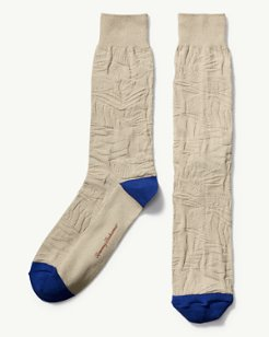 Tropical Leaf Socks