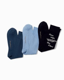 Row With The Flow Socks - 3-Pack