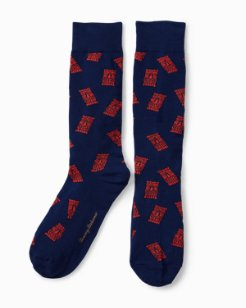 Tiki Vibe Socks
