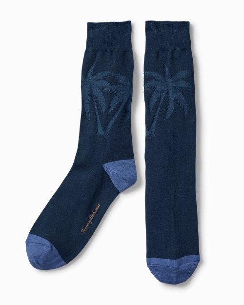 Reflection Texture Palm Socks