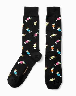 Cocktail Party Socks
