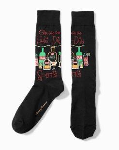 Get Into The Hula-Day Spirits Socks
