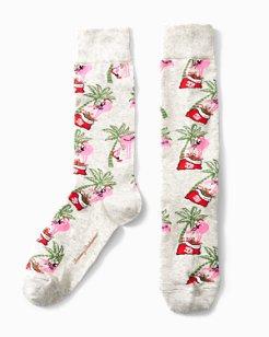 Flamingo Party Socks
