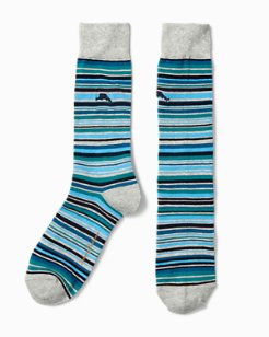 Leeward Stripe Socks