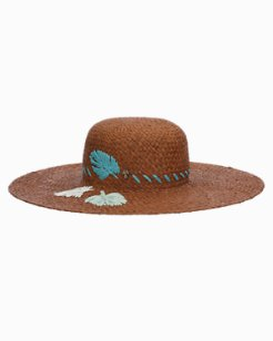 Touch Of Embroidery Sun Hat