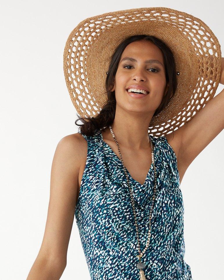 Main Image for Crochet Brim Beach Hat