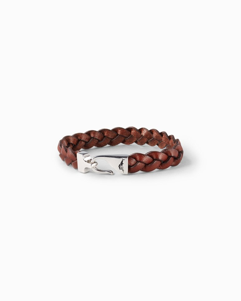 Main Image for Braided Leather Hook Bracelet