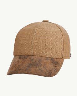 Matte Straw Cap