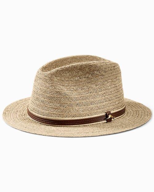 Fine Raffia Braid Safari Hat