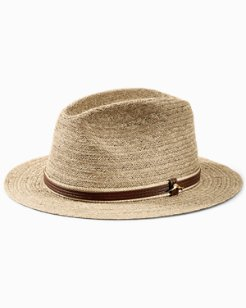 Fine Raffia Braid Safari Hat