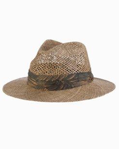 Linen Seagrass Safari Hat