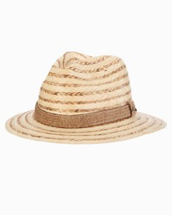 Burnt Buri Braid Safari Hat
