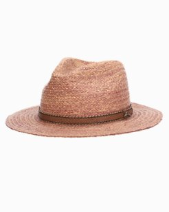 Braded Raffia Safari Hat
