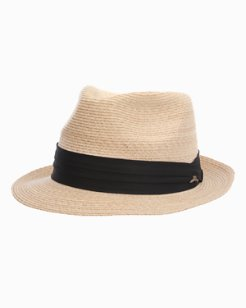 Linen Braid Fedora
