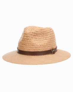 Braid & Matte Raffia Safari Hat