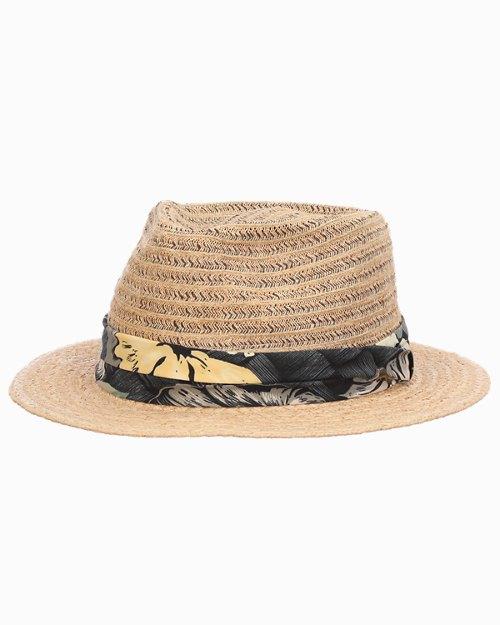 Tahiti Paper Braid Fedora Hat
