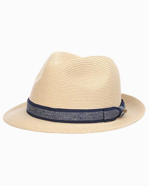 Bimini Fine Braid Toyo Fedora Hat