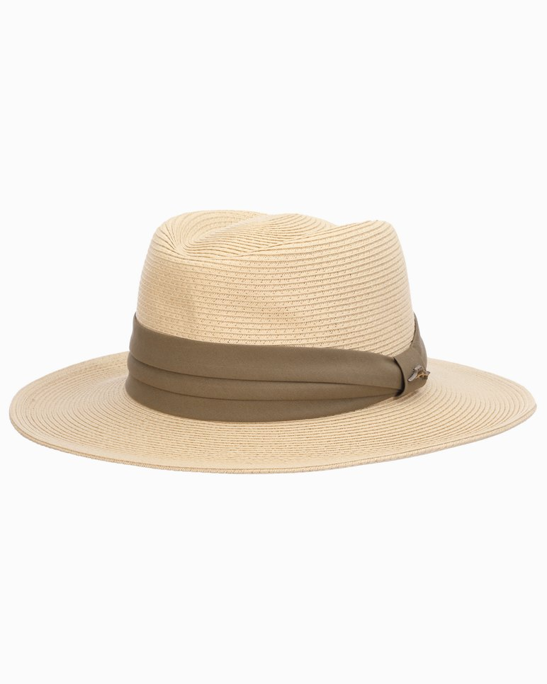 1940s Mens Hats | Fedora, Homburg, Pork Pie Hats Andros Paper Braid Gambler Hat $59.50 AT vintagedancer.com