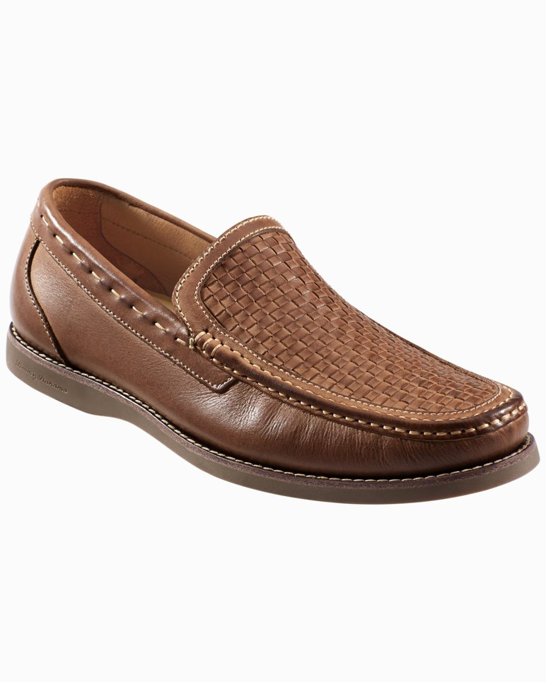 9da434d57ab Main Image for Brooks Bay Woven Leather Slip-On Shoes