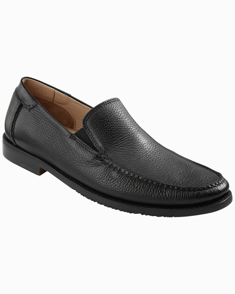 Faxon Leather Slip-On Shoes