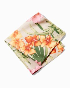 African Orchid Napkin