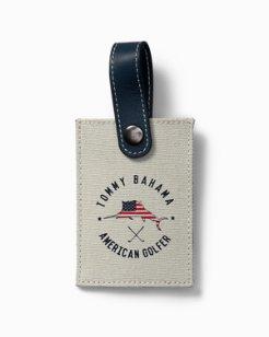 American Golfer Bag Tag