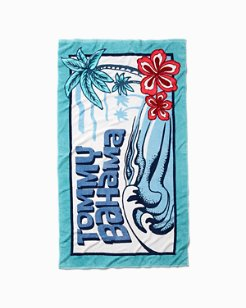 Groovy Wave Beach Towel