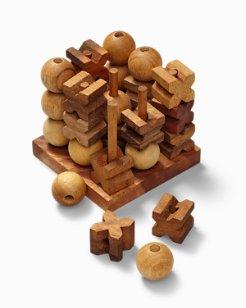 X & O 3D Wood Puzzle