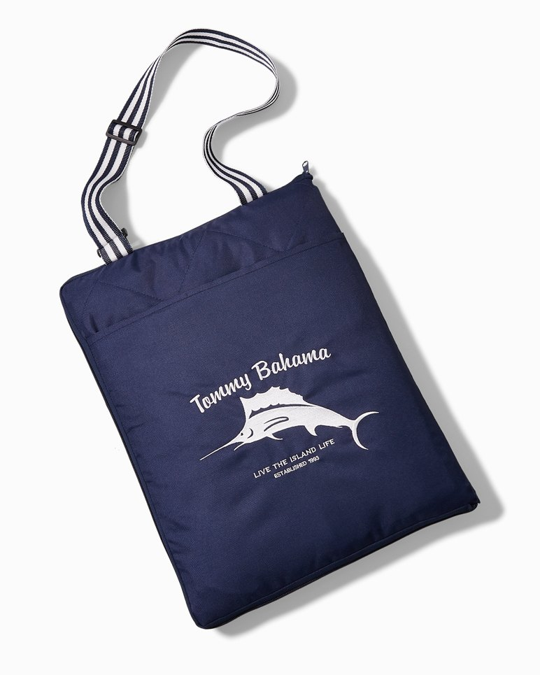 Main Image for Hibiscus Marlin Outdoor Blanket Tote