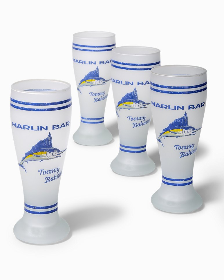 Main Image for Marlin Bar Pilsner Glass Set - Set Of Four