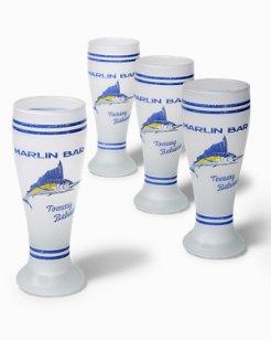 Marlin Bar Pilsner Glass Set - Set Of Four