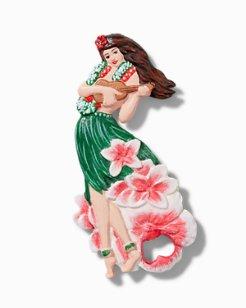 Hula Girl Iron Bottle Opener