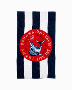 Nautical Marlin Towel