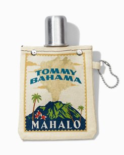 Mahalo Canvas Flask