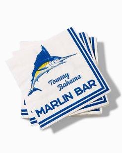 Marlin Bar Cocktail Napkins