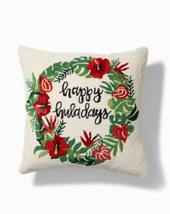 Huladay Wreath Pillow