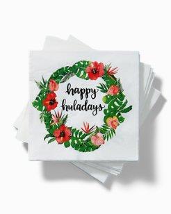 Huladay Wreath Cocktail Napkin