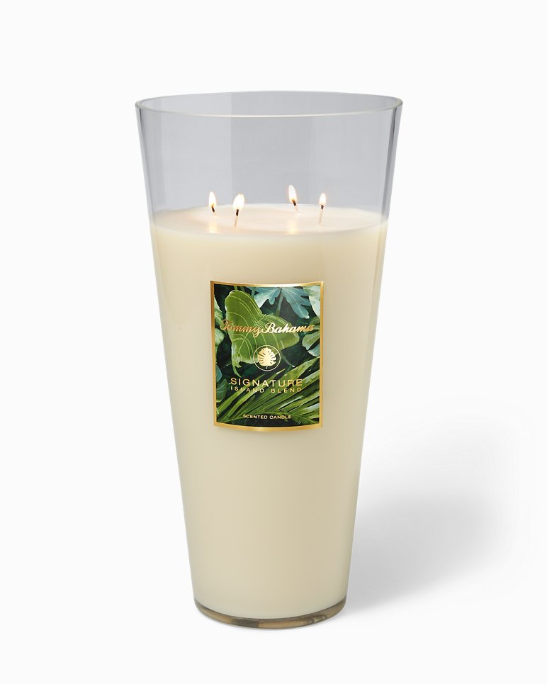 Main Image for Island Blend Glass Poured Candle