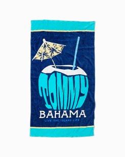 Go Coconuts Reversible Beach Towel