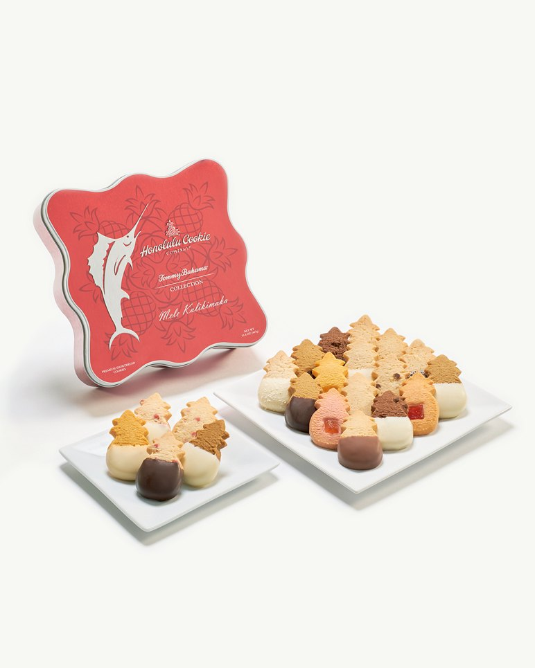 Main Image for Honolulu Cookie Company® Mele Kalikimaka Cookie Tin