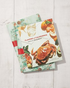 Flavors of California Cookbook Gift Wrapped