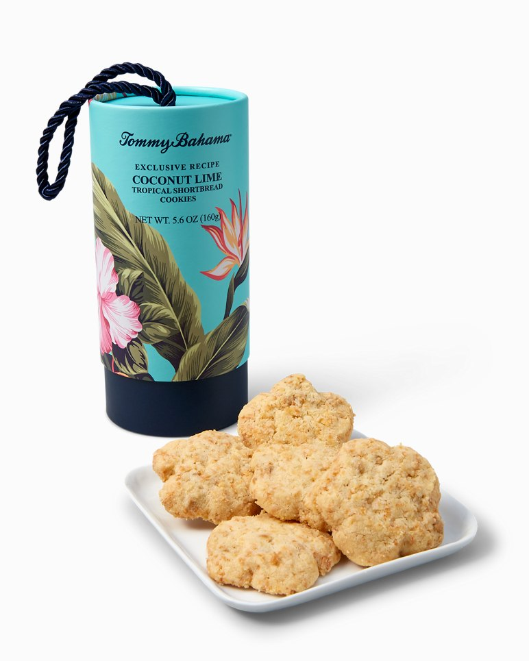 Main Image for Coconut Lime Tropical Shortbread Cookies