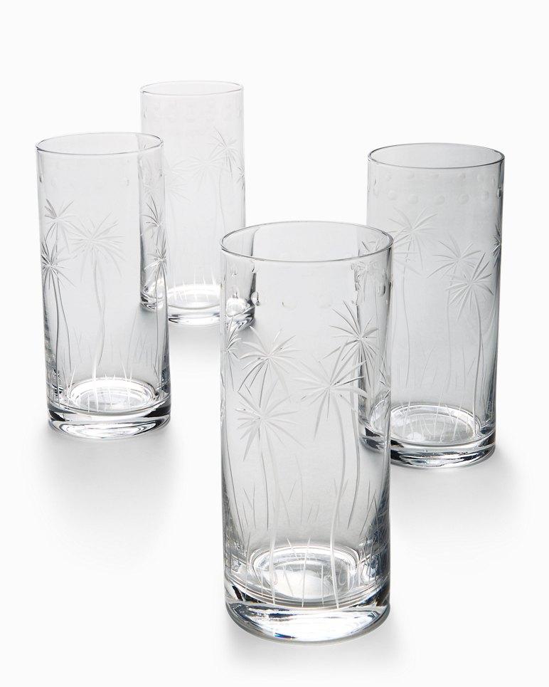 Main Image for Swaying Palm Highball Glass Set - Set of 4