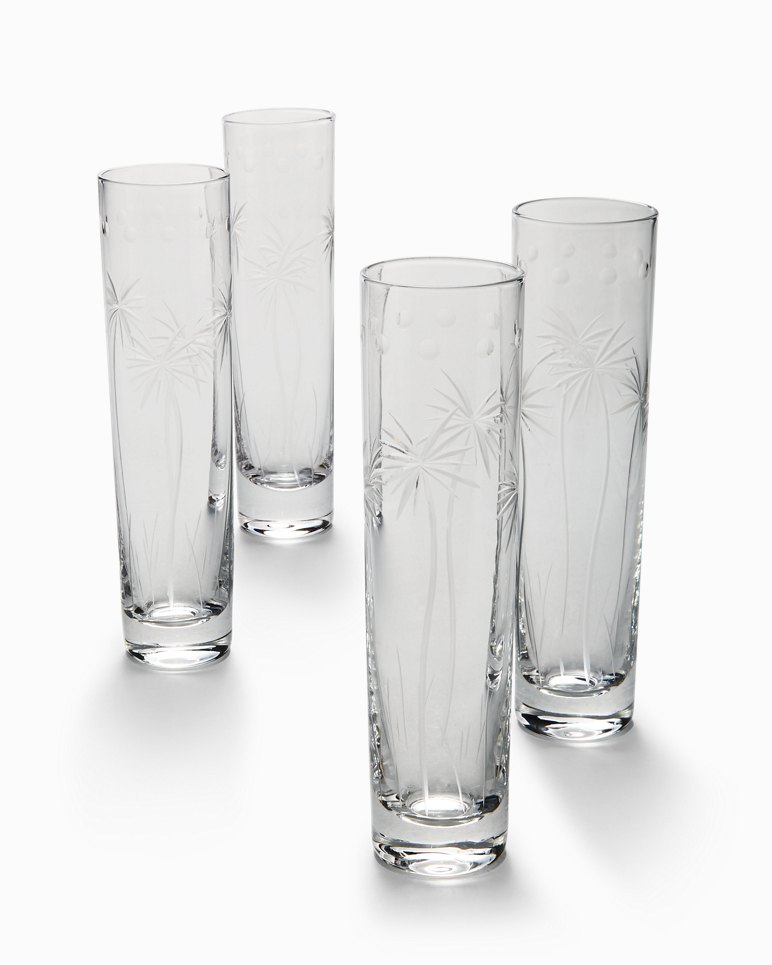 Main Image for Swaying Palm Champagne Glass Set - Set of 4