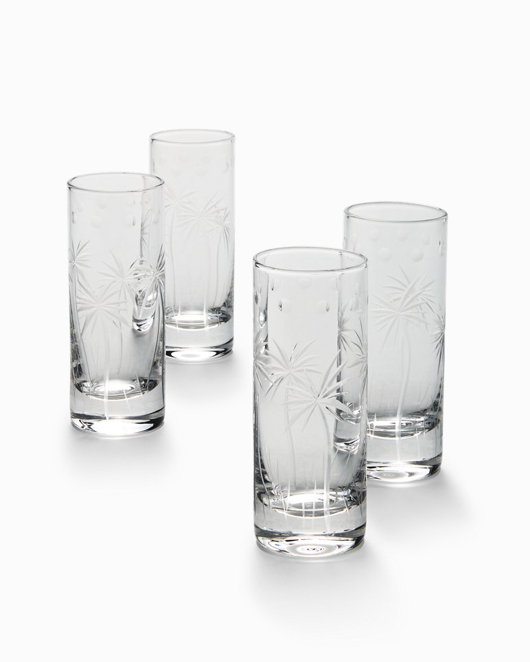 Main Image for Swaying Palm Double Shot Glass Set - Set of 4
